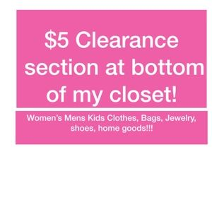 clearance items added weekly